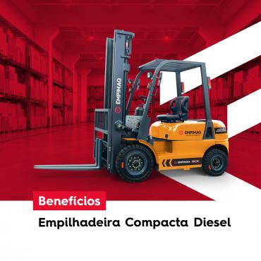 Benefícios da Empilhadeira Compacta Diesel