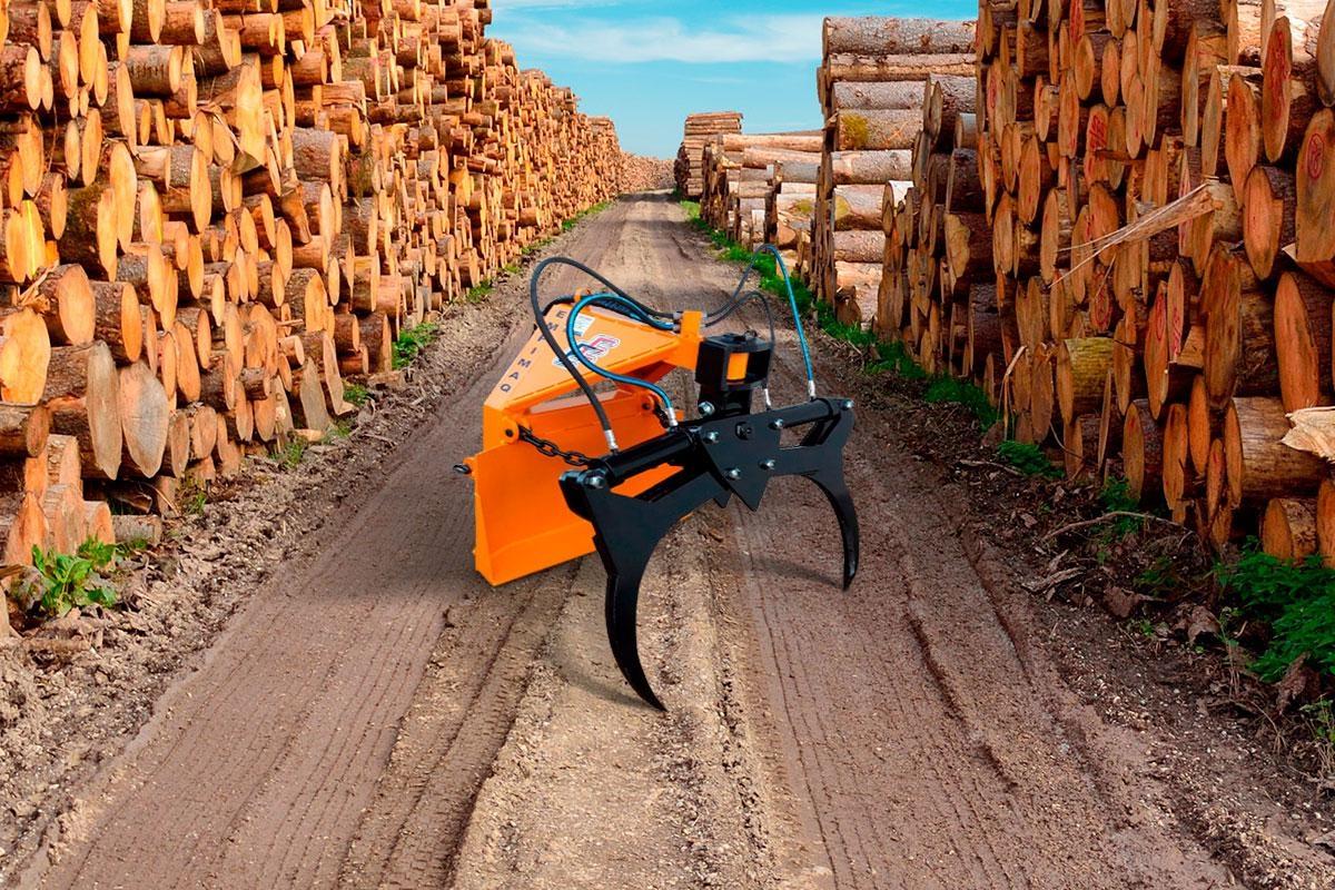 Transportador Florestal TFE 88 (Mini Skidder)