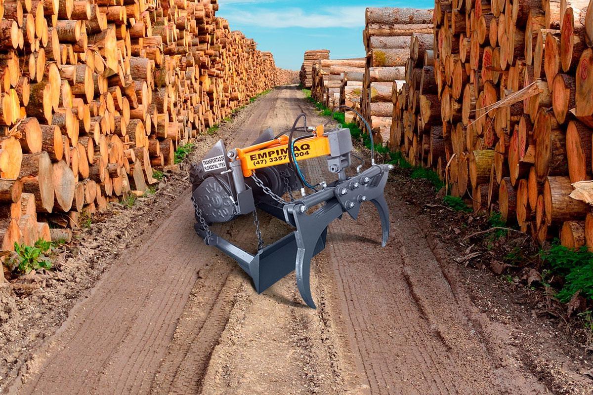 Transportador Florestal TFE100 (Sobre o Guincho)